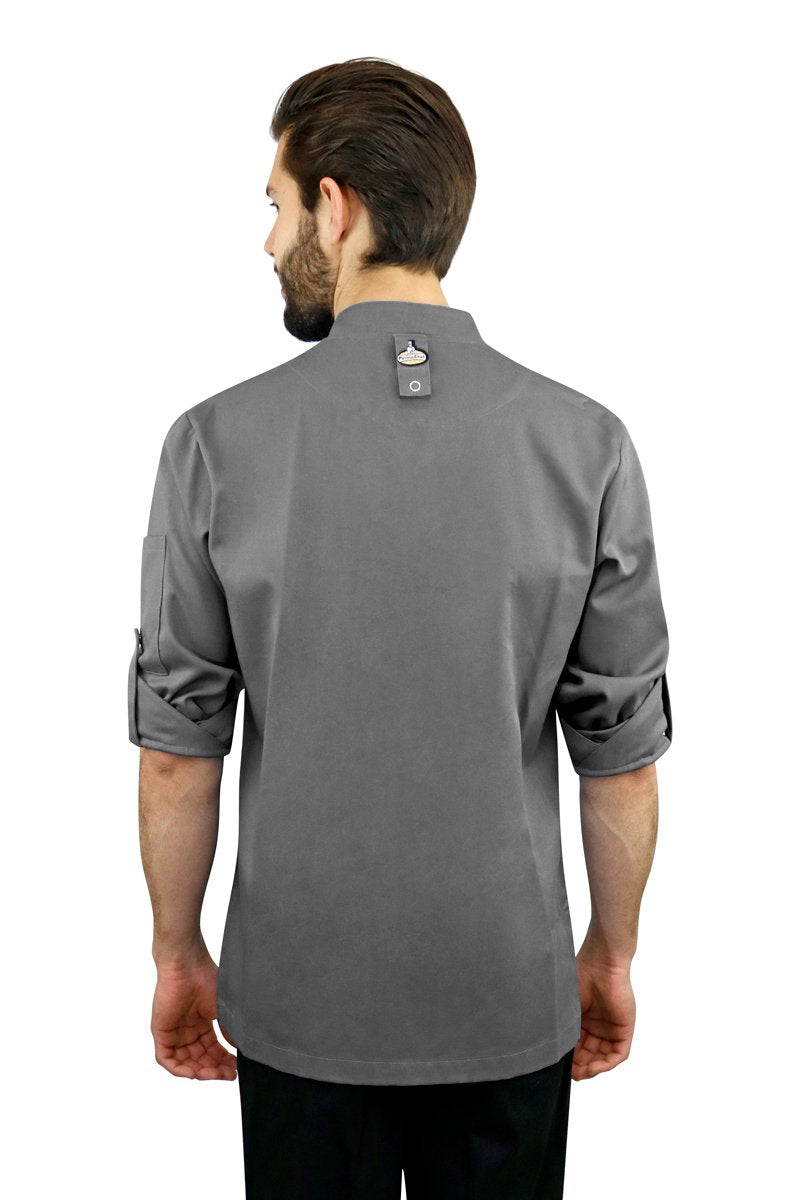 Men's Basic Chef Coat - PermaChef USA