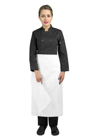 Four-Way Chef Apron without Waistband - PermaChef USA