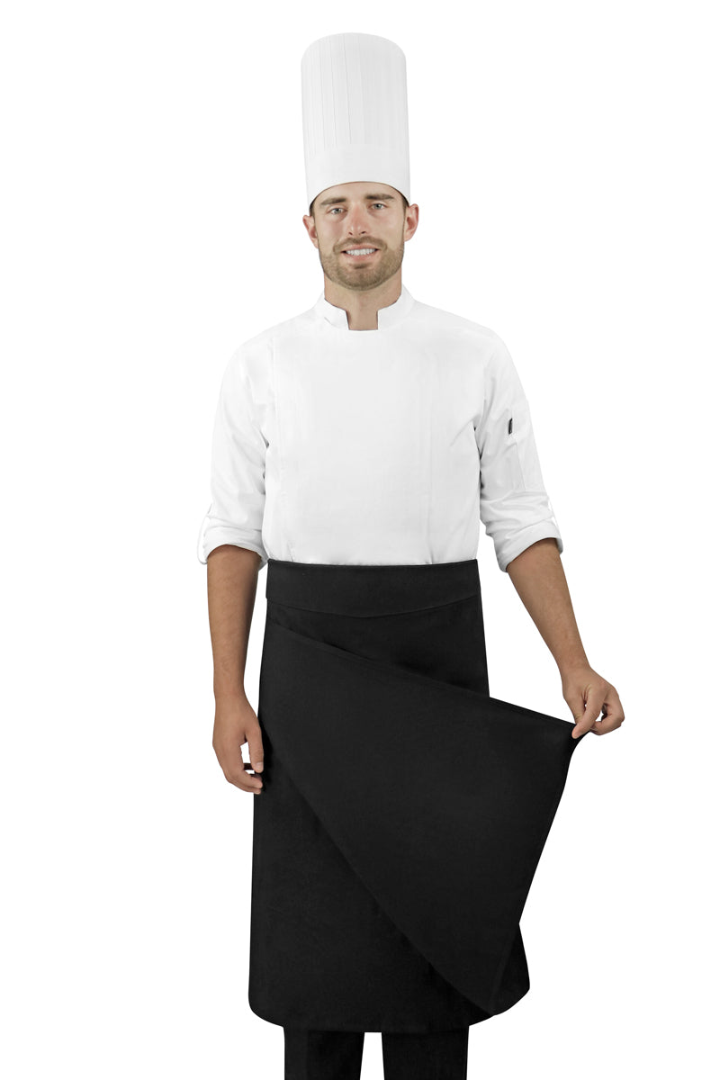 Four-Way Chef Apron with Waistband - PermaChef USA