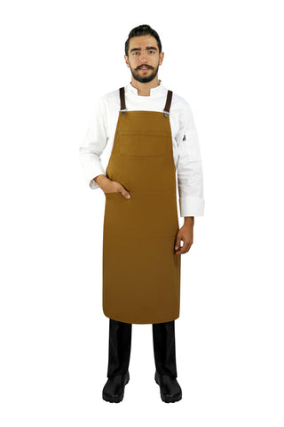 Red Bib Apron