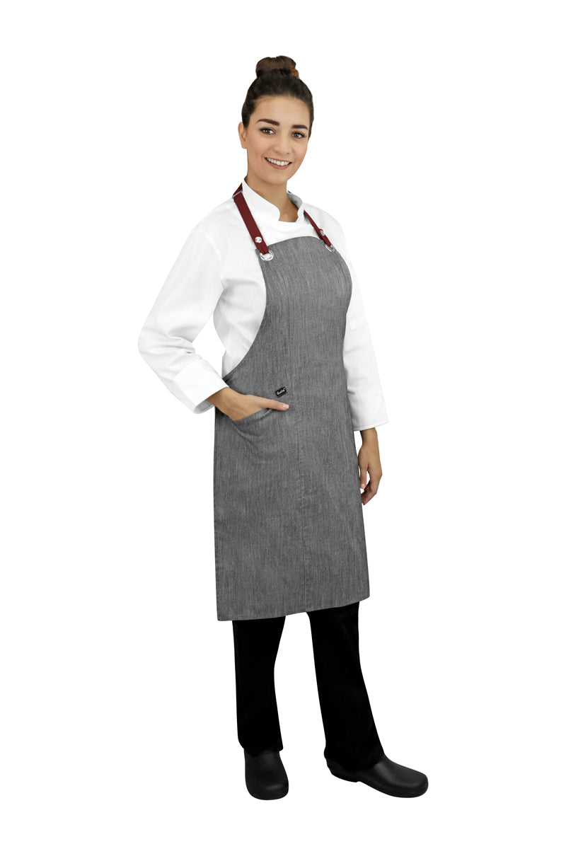 New Bib Apron with Interchangeable Straps