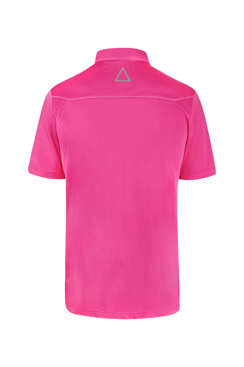 Pink Sport Chef Polo