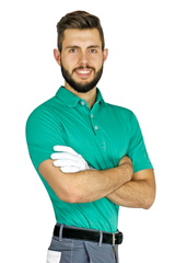 Green Sport Chef Polo - PermaChef USA