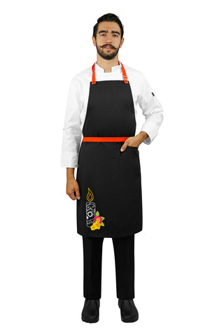 Basic Chef Apron without Waistband