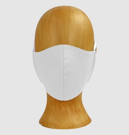 White Cloth Mouth Cover (5-Pack) - PermaChef USA