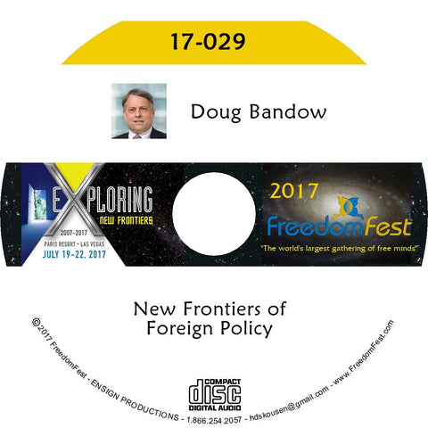 Doug Bandow - New Frontiers of Foreign Policy