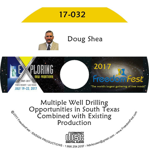 Doug Shea - Multiple Well Drilling Opportunities in South Texas Combined with Existing Production