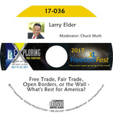 Larry Elder - Free Trade, Fair Trade, Open Borders, or the Wall - What's Best for America?