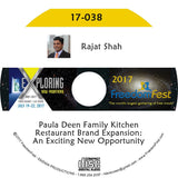 Rajat Shah - Paula Deen Family Kitchen Restaurant Brand Expansion: An Exciting New Opportunity