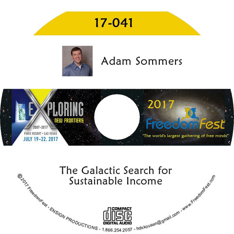 Adam Sommers - The Galactic Search for Sustainable Income
