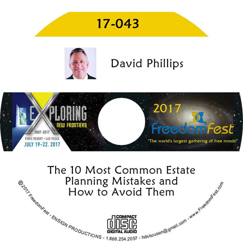 David Phillips - The 10 Most Common Estate Planning Mistakes and How to Avoid Them