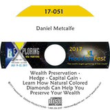 Daniel Metcalfe - Wealth Preservation - Hedge - Capital Gain - Learn How Natural Colored Diamonds Can Help You Preserve Your Wealth