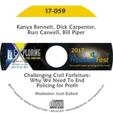 Kanya Bennett, Dick Carpenter, Russ Caswell, Bill Piper - Challenging Civil Forfeiture: Why We Need To End Policing for Profit