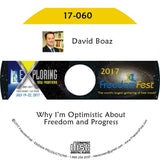 David Boaz - Why I'm Optimistic About Freedom and Progress