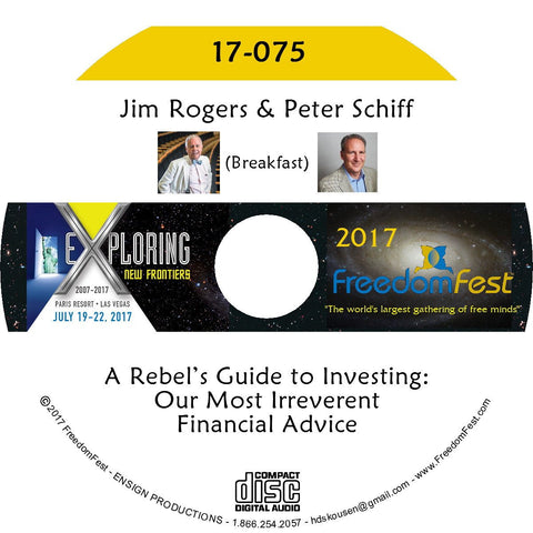 Jim Rogers, Peter Schiff - Breakfast: A Rebel's Guide to Investing: Our Most Irreverent Financial Advice