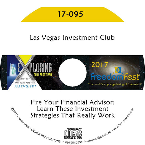 Las Vegas Investment Club - Fire Your Financial Advisor: Learn These Investment Strategies That Really Work