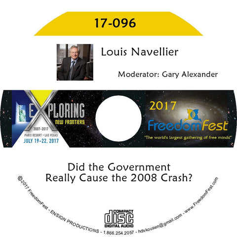 Louis Navellier - Did the Government Really Cause the 2008 Crash?