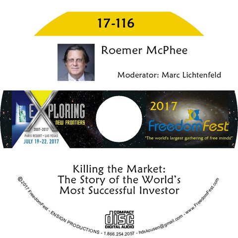 Roemer McPhee - Killing the Market: The Story of the World's Most Successful Investor