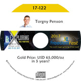 Torgny Persson - Gold Price: USD 65,000/oz in 5 years?