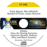 Gene Meyer, Dan Mitchell, Randal O'Toole, Lesley Skousen - PANEL: How the Sharing Economy Improves Quality, Reduces Price and Raises Incomes
