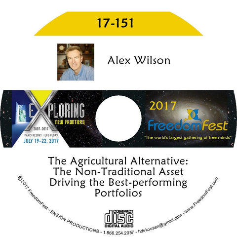 Alex Wilson - The Agricultural Alternative: The Non-Traditional Asset Driving the Best-performing Portfolios