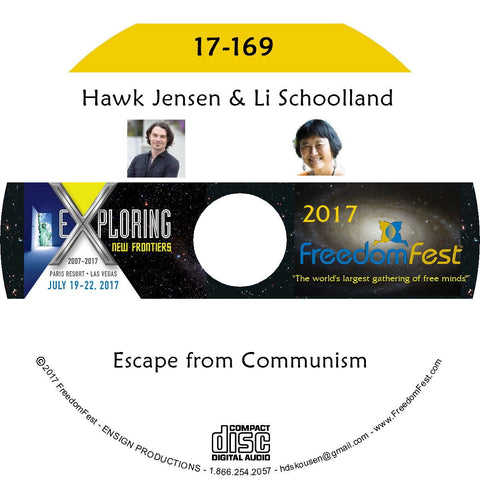 Hawk Jensen, Li Schoolland - PANEL: Escape from Communism
