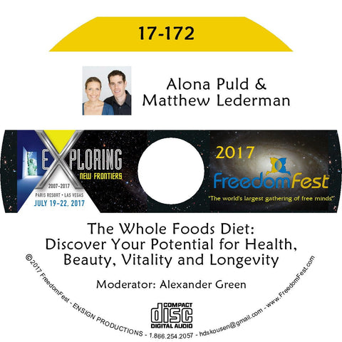 Matthew Lederman, Alona Puld - The Whole Foods Diet: Discover Your Potential for Health, Beauty, Vitality and Longevity