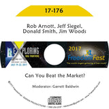 Rob Arnott, Jeff Siegel, Donald Smith, Jim Woods - Can You Beat the Market?