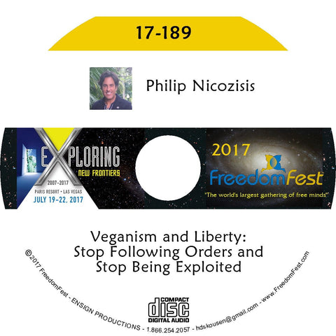 Philip Nicozisis - Veganism and Liberty: Stop Following Orders and Stop Being Exploited