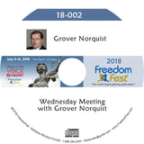 Grover Norquist - Wednesday Meeting with Grover Norquist
