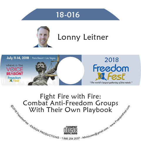 Lonny Leitner - Fight Fire with Fire: Combat Anti-Freedom Groups With Their Own Playbook