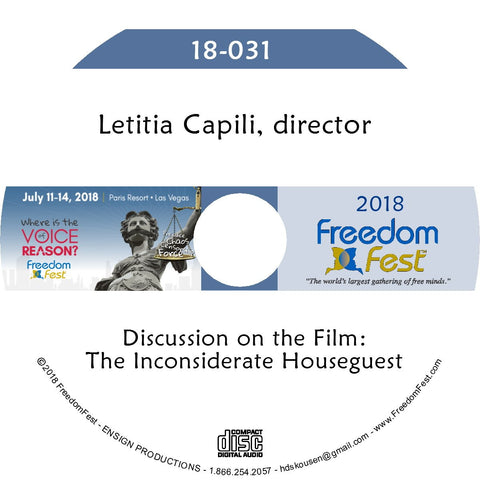 Letitia Capili - Discussion: The Inconsiderate Houseguest