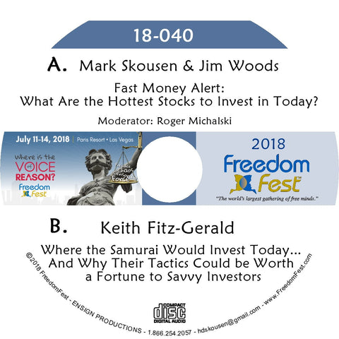 Mark Skousen, Jim Woods - Keith Fitz-Gerald