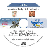 Anastasia Boden, Ilya Shapiro - The Supremes Rule: The Complete Report on the Latest SCOTUS Decisions