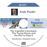 Andy Puzder - The Capitalist Comeback: The Trump Boom and the Plot to Stop It