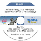 Bailey, Frampton, O'Sullivan, Rapsys - PANEL: 200 Years of Frankenstein: Leviathan and the Mad Scientist