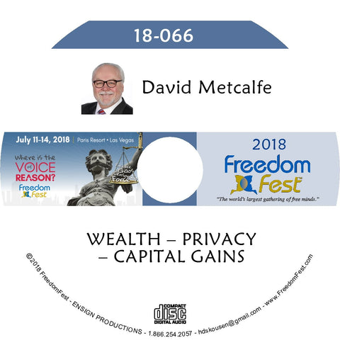 David Metcalfe - WEALTH – PRIVACY – CAPITAL GAINS
