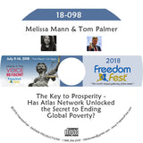 Melissa Mann, Tom Palmer - The Key to Prosperity - Has Atlas Network Unlocked the Secret to Ending Global Poverty?