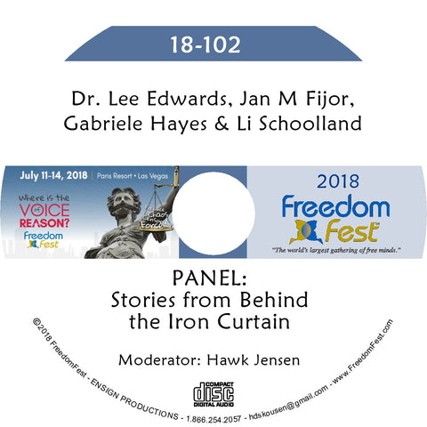 Edwards, Fijor, Hayes, Schoolland - PANEL: Stories from Behind the Iron Curtain