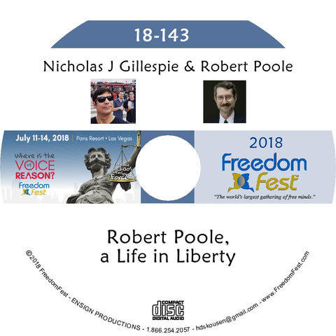 Nicholas J Gillespie, Robert Poole - Robert Poole, a Life in Liberty