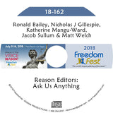 Bailey, Gillespie, Mangu-Ward, Sullum, Welch - Reason Editors: Ask Us Anything