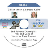 Zoltan Istvan, Barbara Kolm - End Poverty Overnight? Pros and Cons of Universal Basic Income