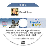 David Boaz - Leviathan and the Age of Reason: Why Life After Locke Is No Longer Nasty, Brutish, and Short