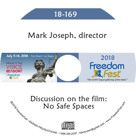 Mark Joseph - Discussion: No Safe Spaces