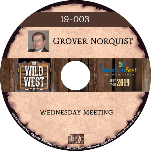 Grover Norquist - Wednesday Meeting