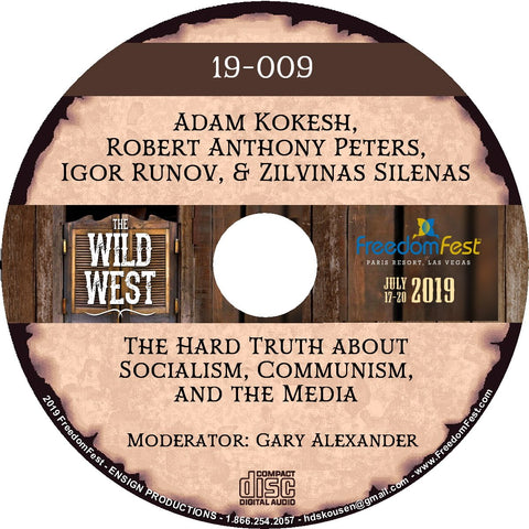 Adam Kokesh, Robert Anthony Peters, Igor Runov, Zilvinas Silenas - The Hard Truth about Socialism, Communism, and the Media