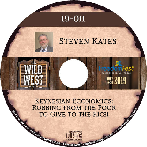 Steven Kates - Keynesian Economics: Robbing from the Poor to Give to the Rich