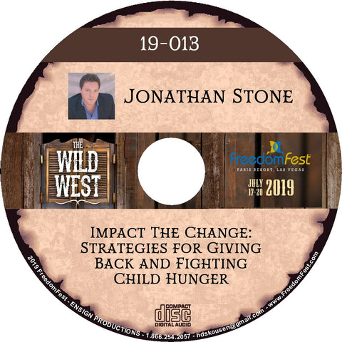 Jonathan Stone - Impact The Change: Strategies for Giving Back and Fighting Child Hunger