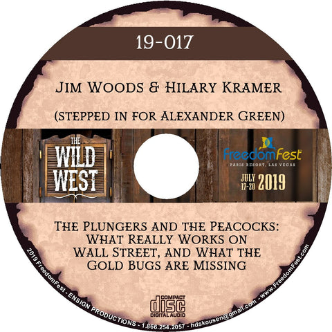 Jim Woods & Hilary Kramer - The Plungers and the Peacocks: What Really Works on Wall Street, and What the Gold Bugs are Missing