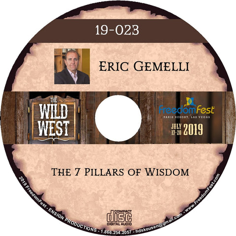 Eric Gemelli - The 7 Pillars of Wisdom